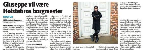 Holstebro Dagblad, 2015