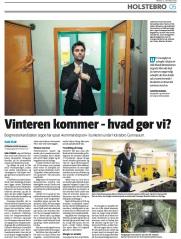 Holstebro Dagbladet, okt 2016