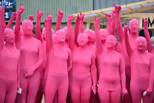 group pink