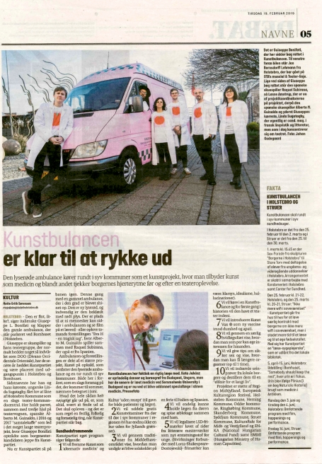 Dagbladet Holstebro, februar 2019