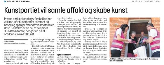 Dagbladet Holstebro, august 20
