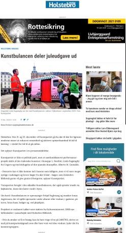 Dagbladet Holstebro, 20 december